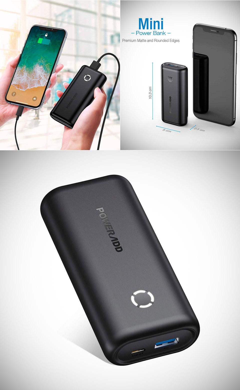 Poweradd Energycell 10000 Power Bank