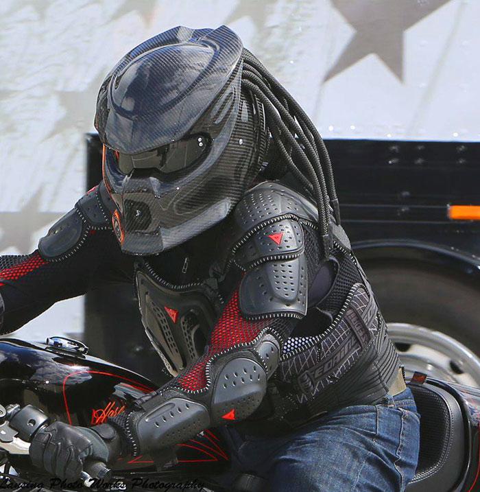 Predator Berserker Motorcycle Helmet