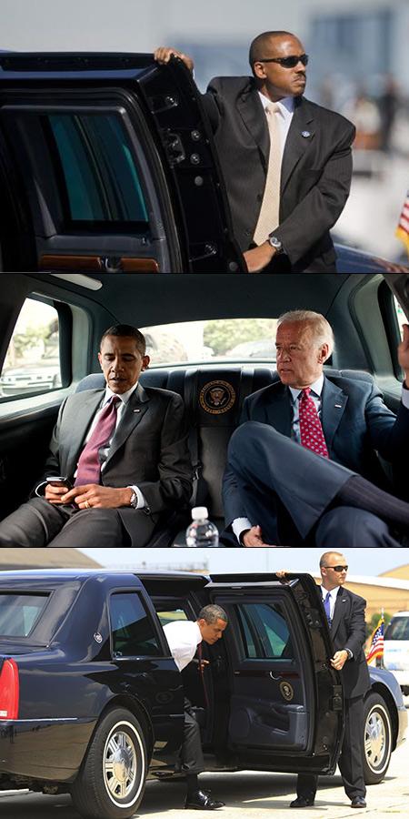 Fascinant sur haute technologie présidentielle Cadillac limousine de Obama, la bête