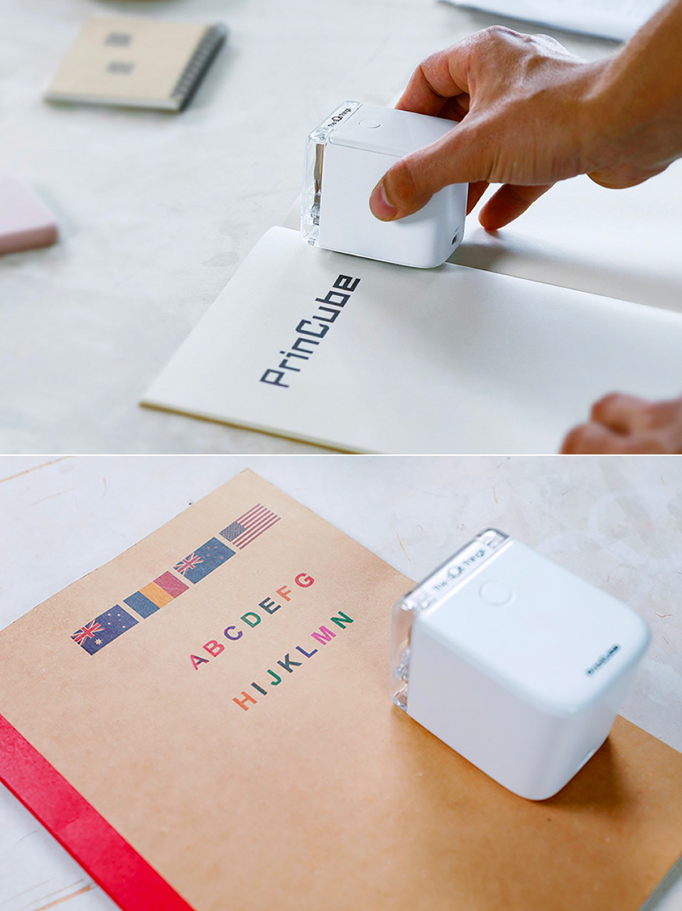 PrinCube Smallest Color Printer
