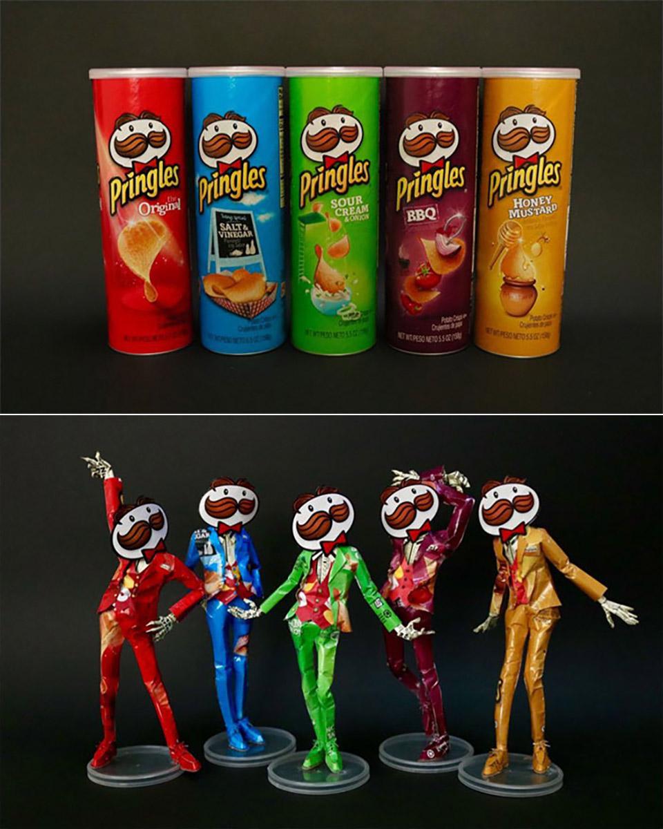 Product Packaging Art Sculptures