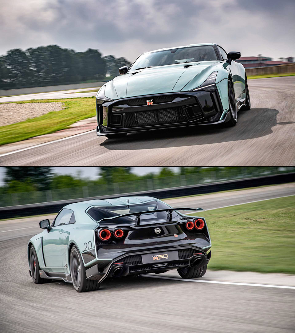 Production Nissan GT-R 50 Italdesign