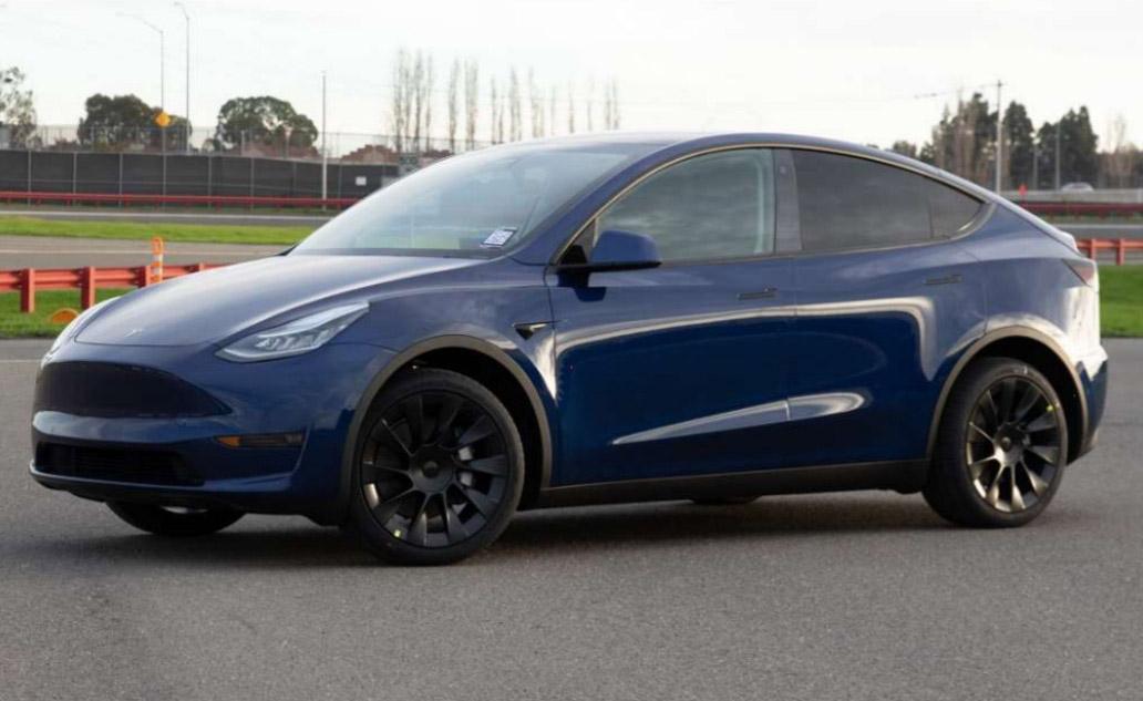 Production Tesla Model Y