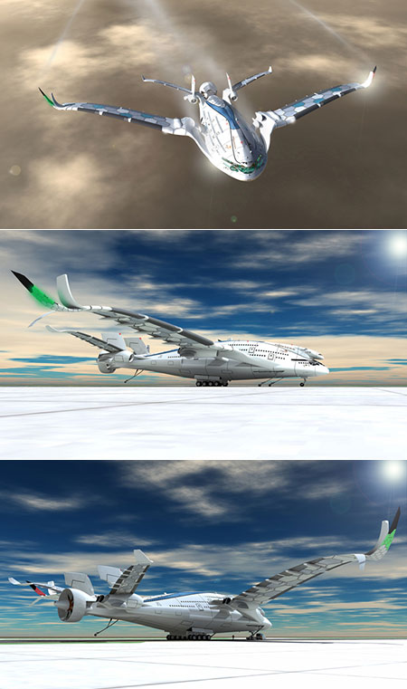 Solar-Powered Jet