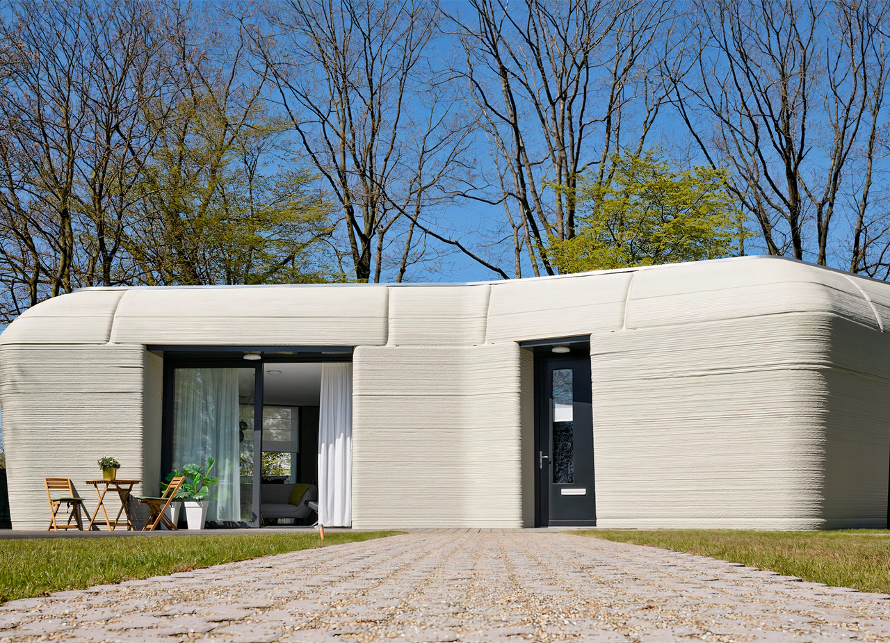 Project Milestone First 3D-Printed House Europe