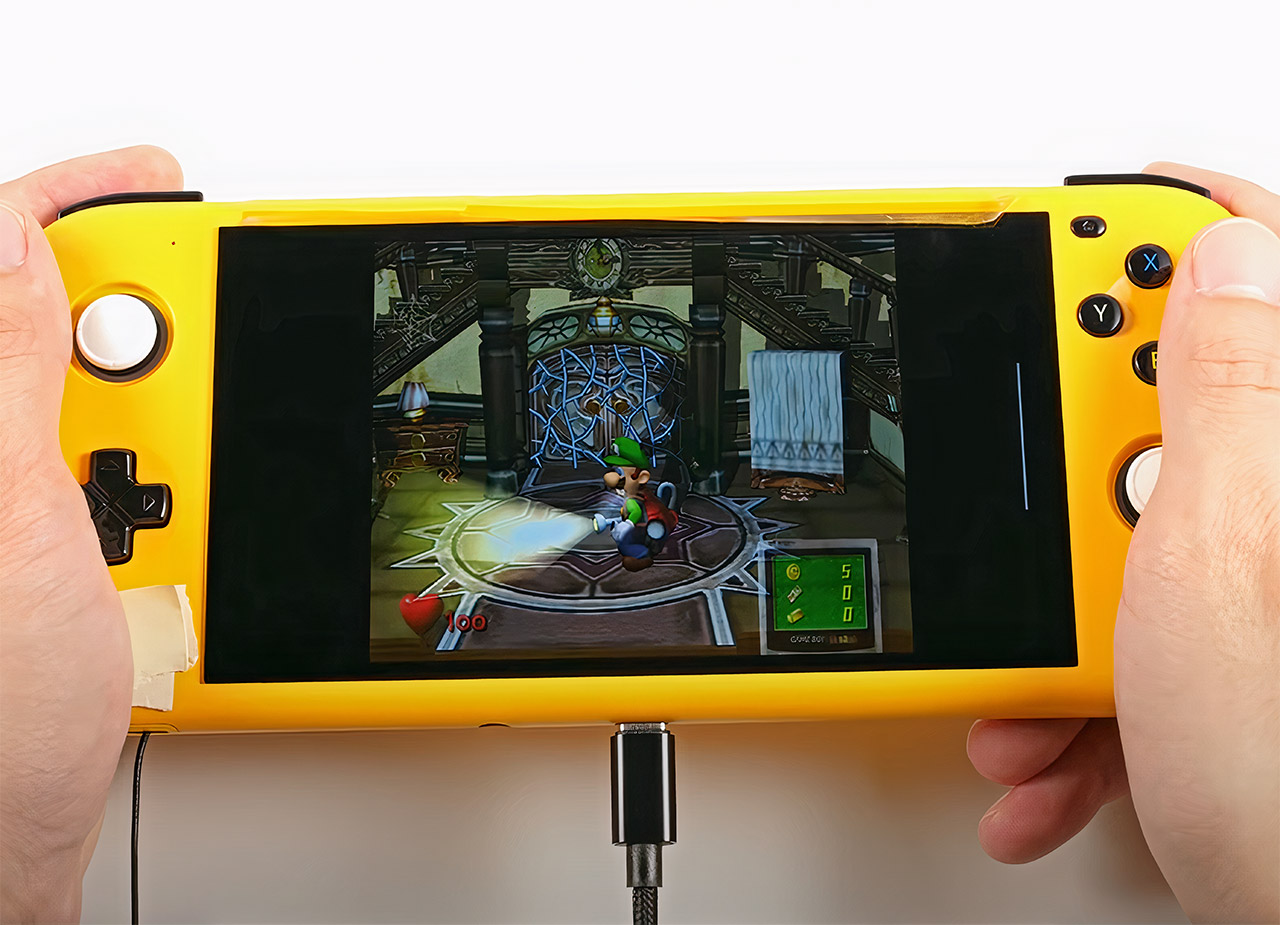 Project Valhalla Snapdragon Handheld Game Console