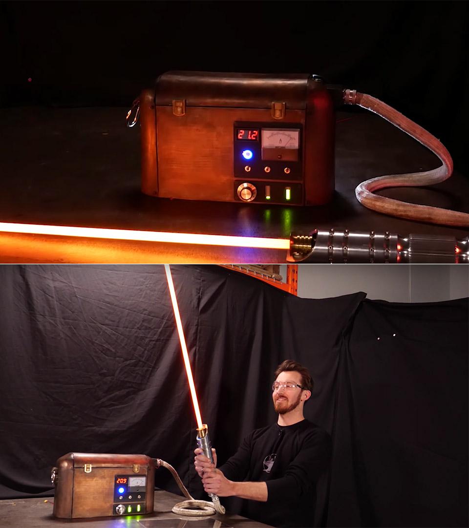 Protosaber Burning Lightsaber