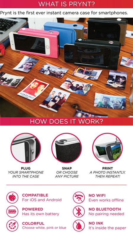 Prynt Instant Camera Case