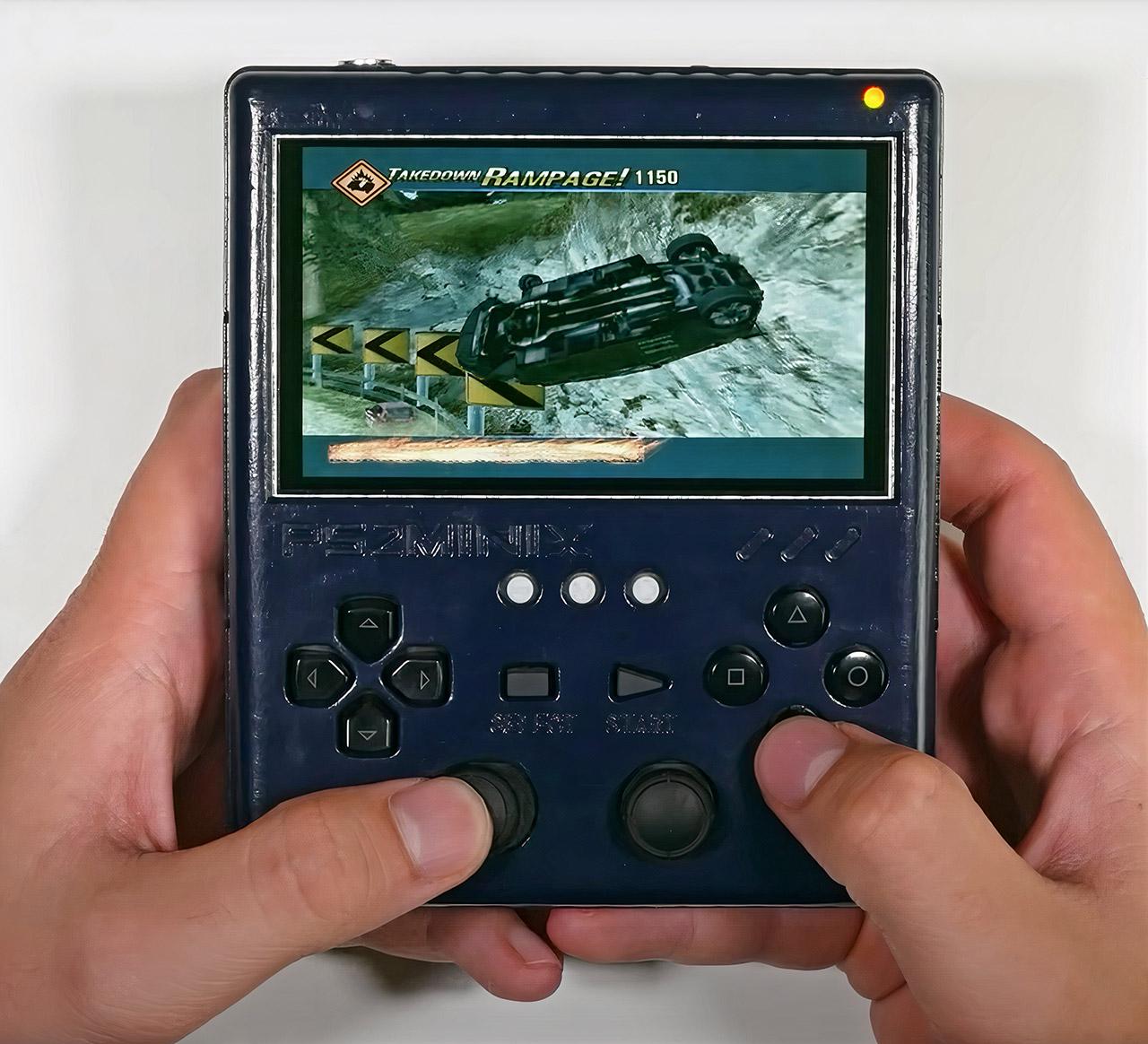PS2MINIX Custom PS2 Portable