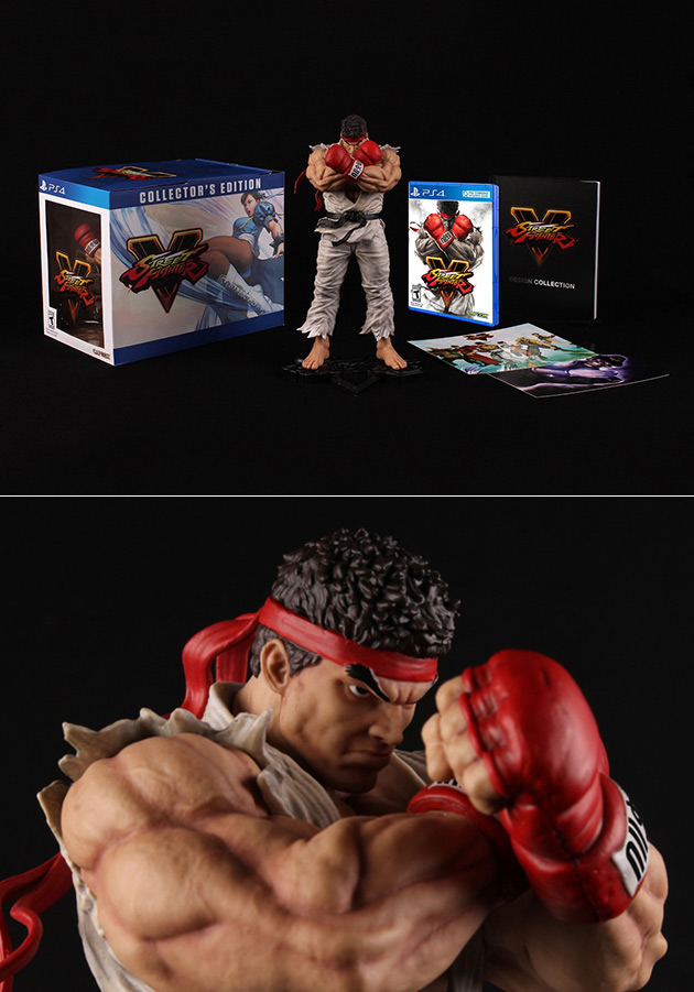 PS4 SFV Collector's Edition