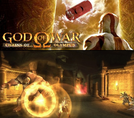 God of War: Chains of Olympus  Pspgame_1
