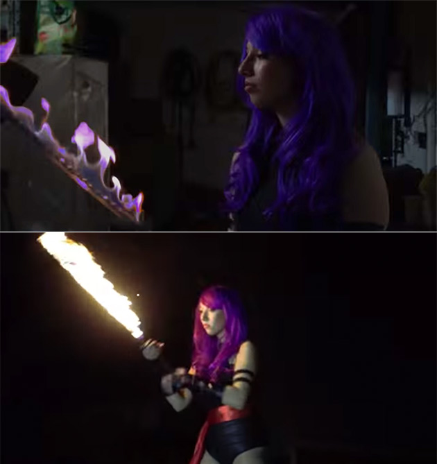 Psylocke Psionic Sword