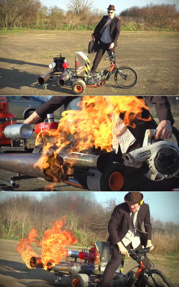 Pulse Jet Drift Trike