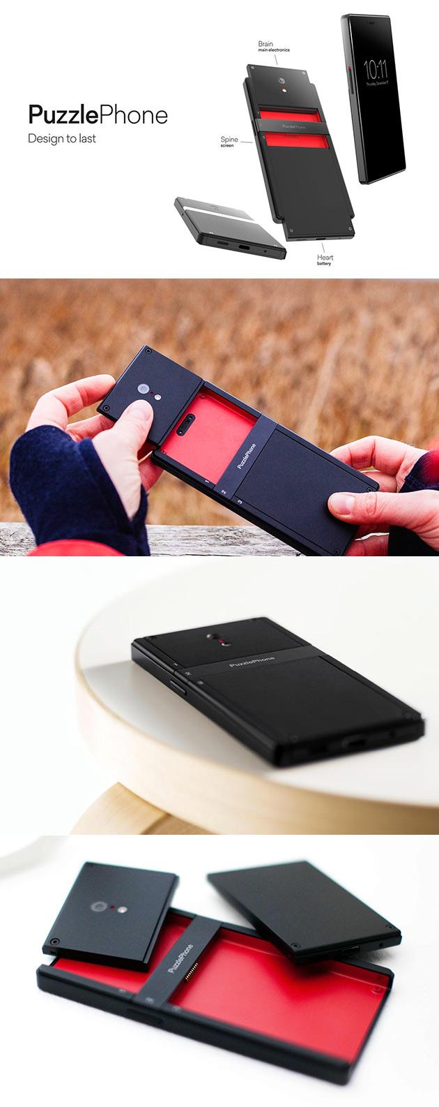 PuzzlePhone Modular Phone