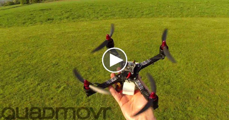 Quadmovr Turbocharged Drone