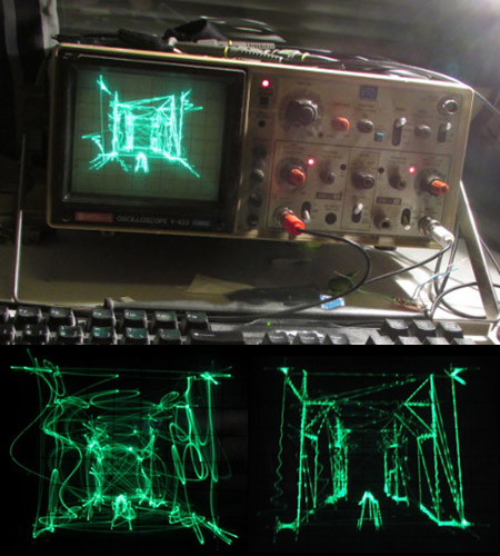 Oscilloscope Quake
