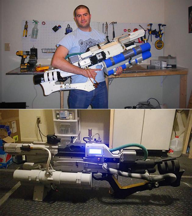 Real Quake Railgun