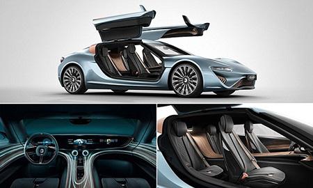 Eau salée-Powered Quant e-Sportlimousine approuvé pour un usage routier, va de 0 à 60 en 2.8-secondes