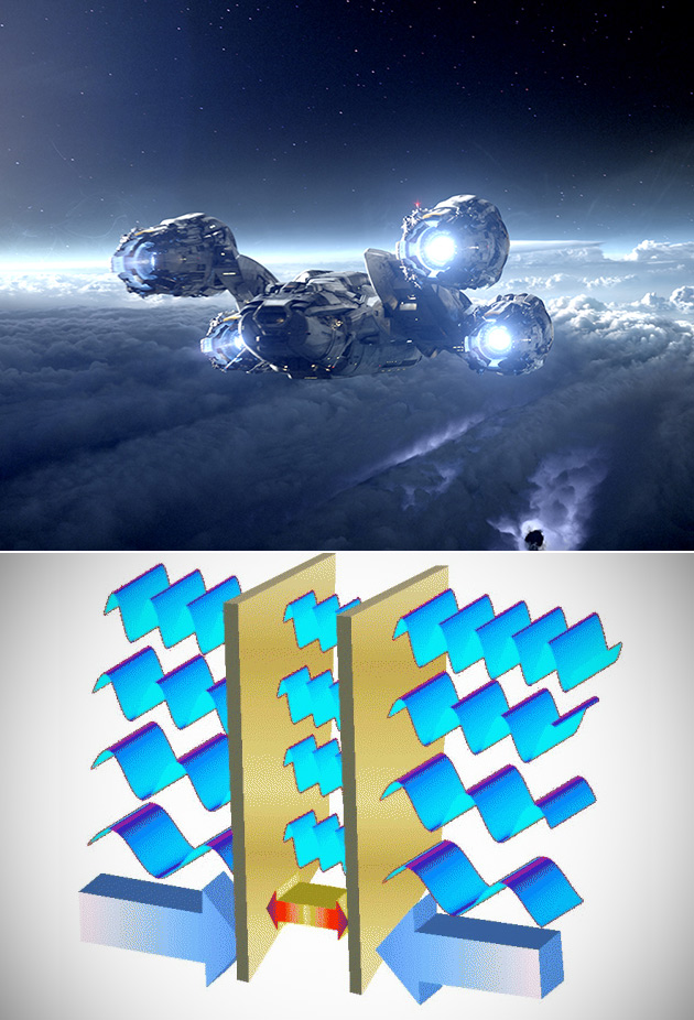 Quantum Space Propulsion System