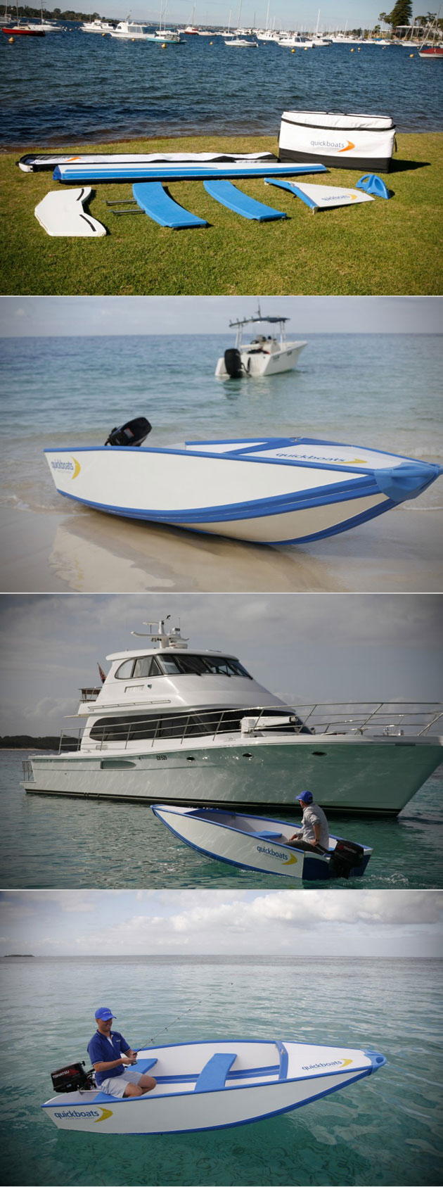Quickboat Foldable Boat