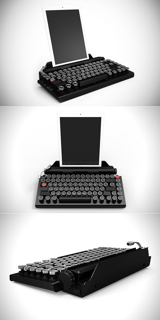 QwerkyWriter iPad Typewriter