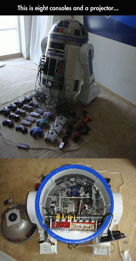 R2-D2 Game Consoles
