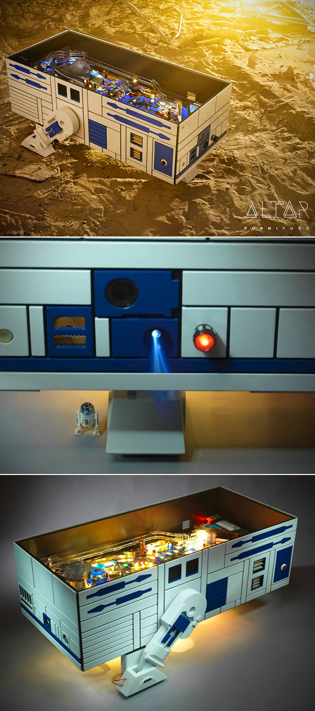 R2-D2 Pinball Coffee Table