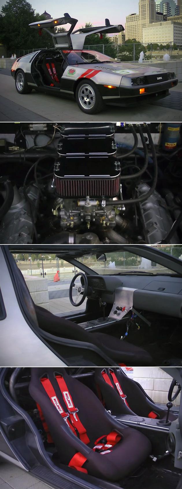 Racing DeLorean