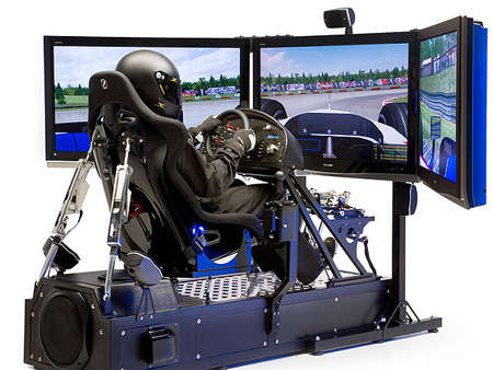 Auto Racing Simulators on Feature  Racing Simulators That Bring The Track Experience Home