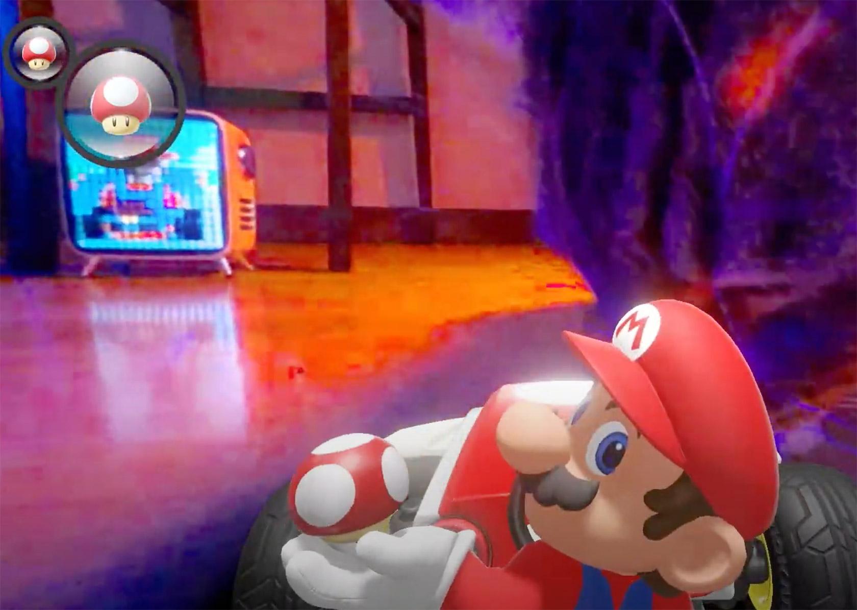 Rainbow Road Mario Kart Live: Home Circuit