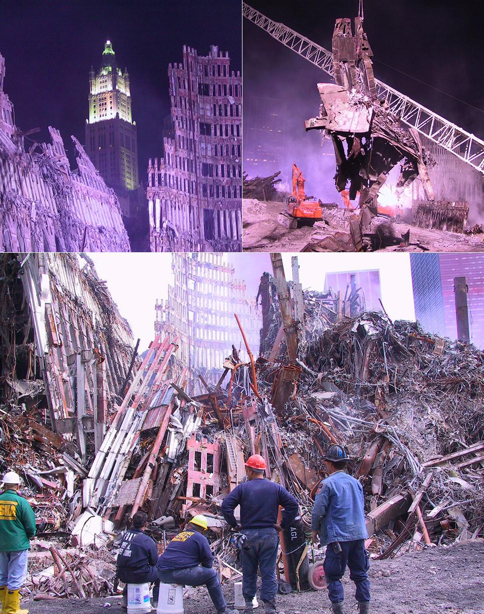 Rare 9/11 Ground Zero Photos
