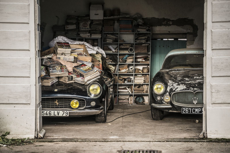 Rare Vintage Cars French Countryside