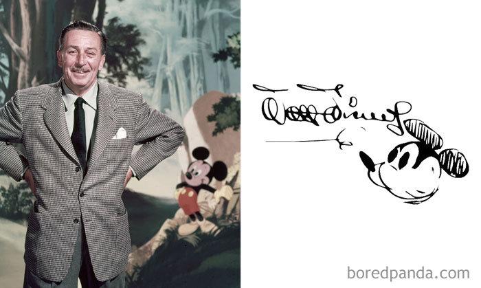Rare de Walt Disney Signature et 10 de Plus Fascinant Célébrité Signatures