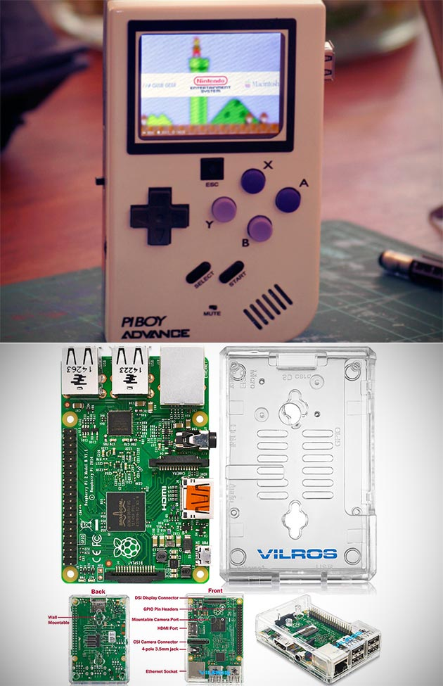 Build Your Own Game Boy Or Mini Pc Using The Raspberry Pi