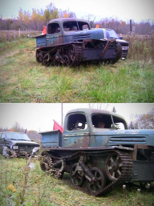 Rat Rod Tank