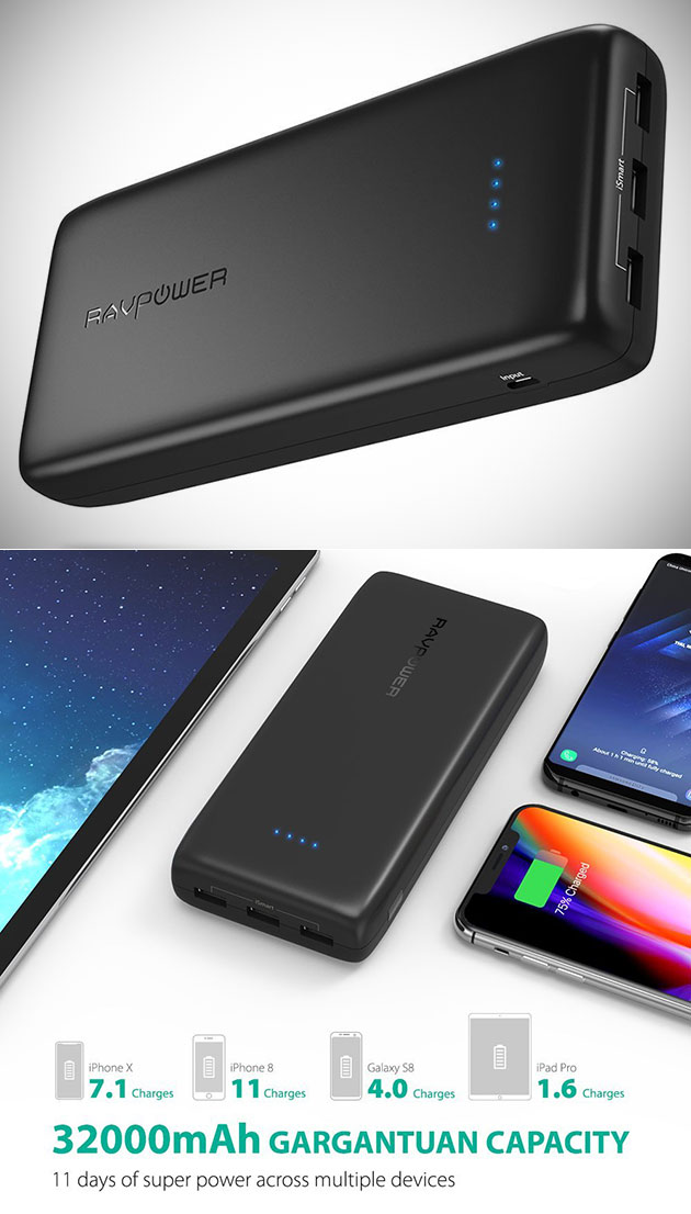 RAVPower 32000mAh Power Bank