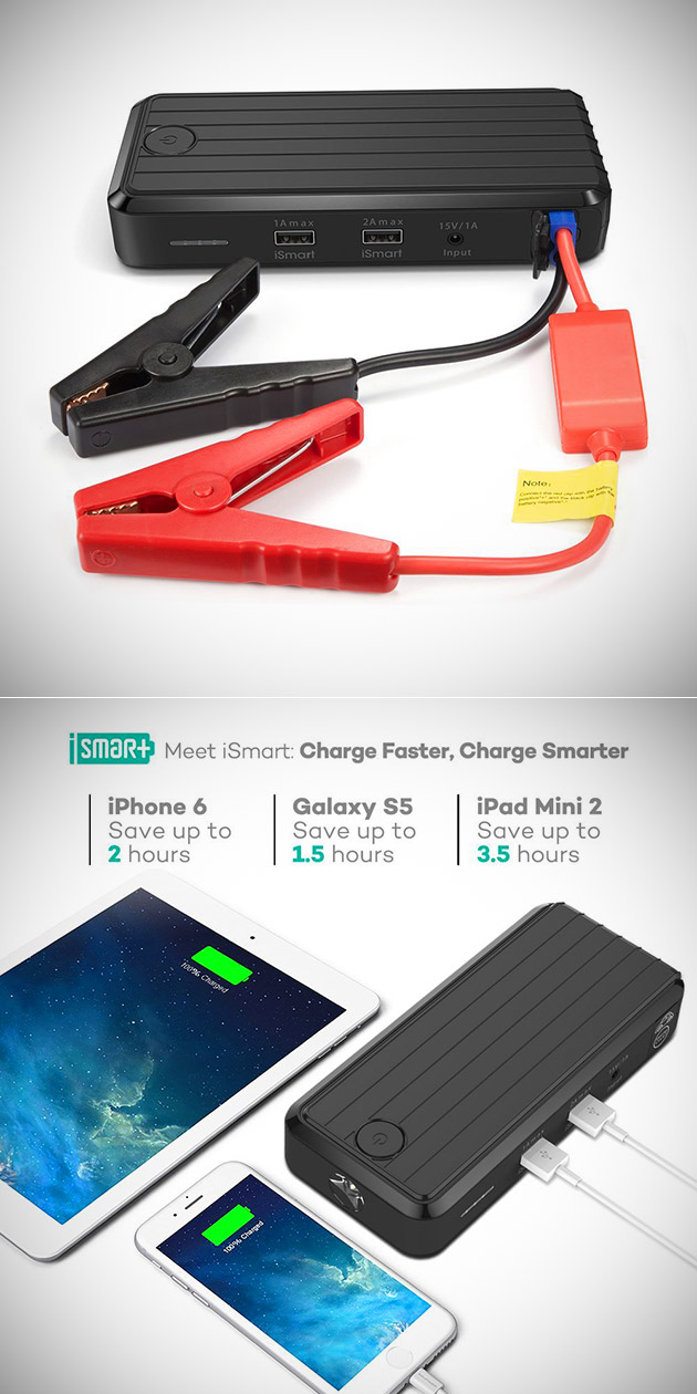 RAVPower Portable Car Jump Starter