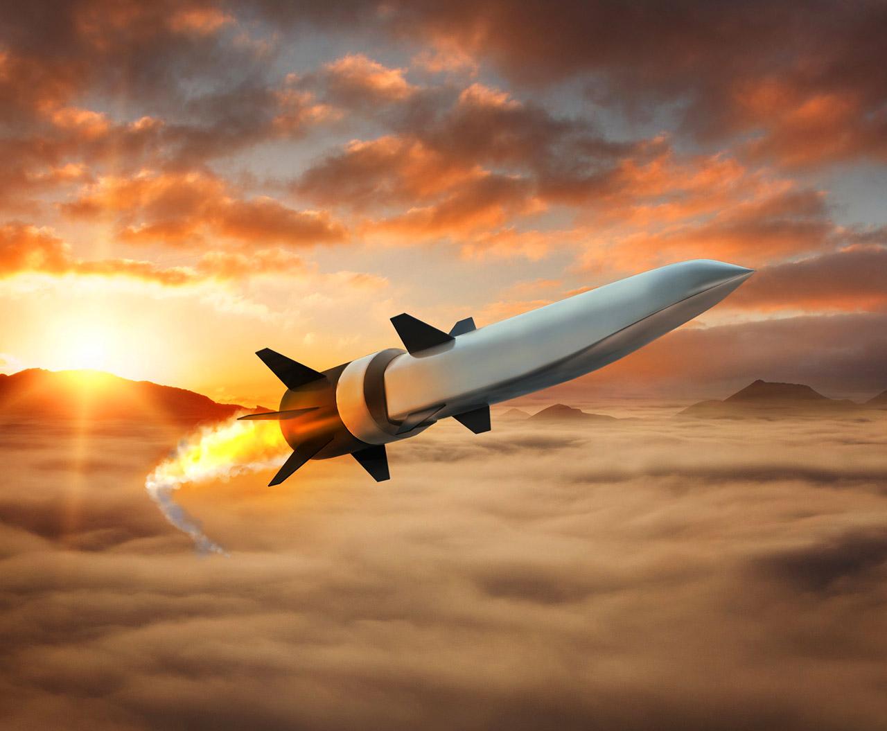 Raytheon Northrop Grumman Scramjet Hypersonic Weapon Missile