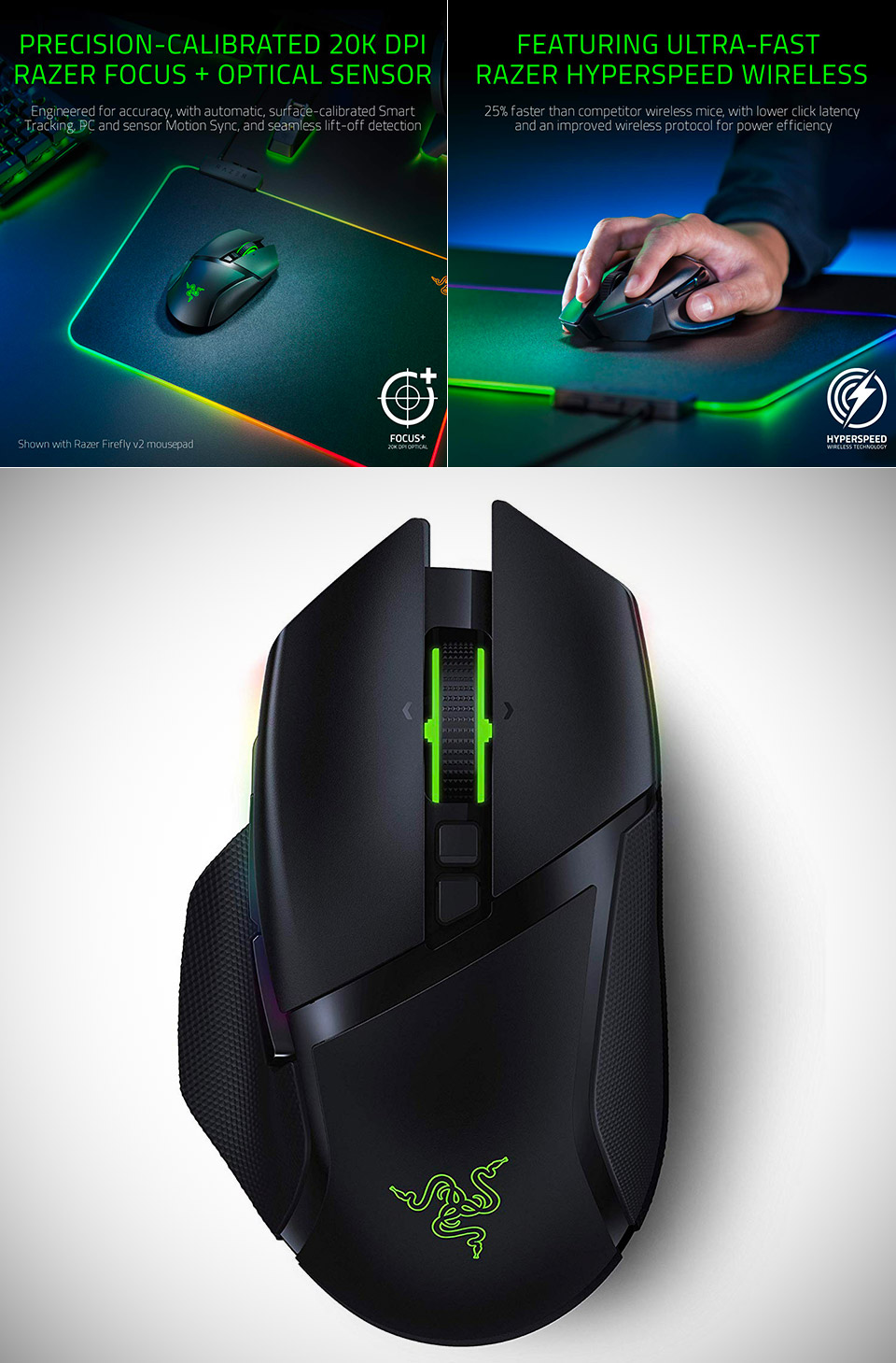 Razer Basilisk Computer Mouse