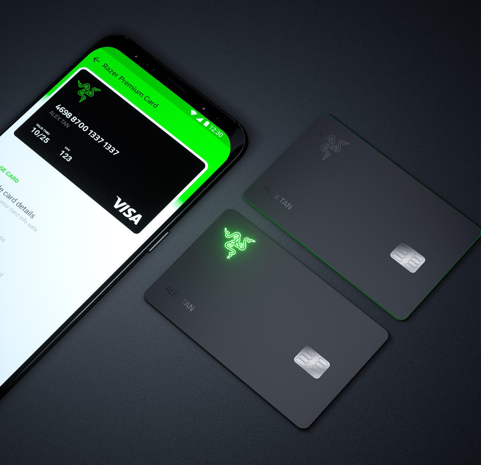 Razer Card Visa