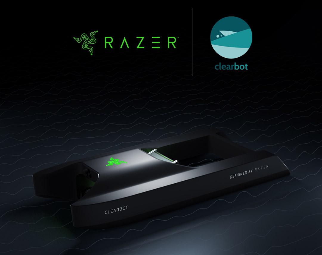 Razer ClearBot AI Robot Ocean Plastic