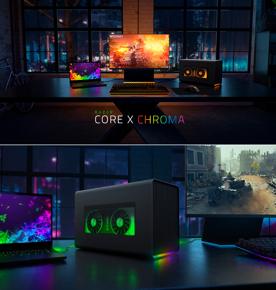 Razer Core X Chroma eGPU