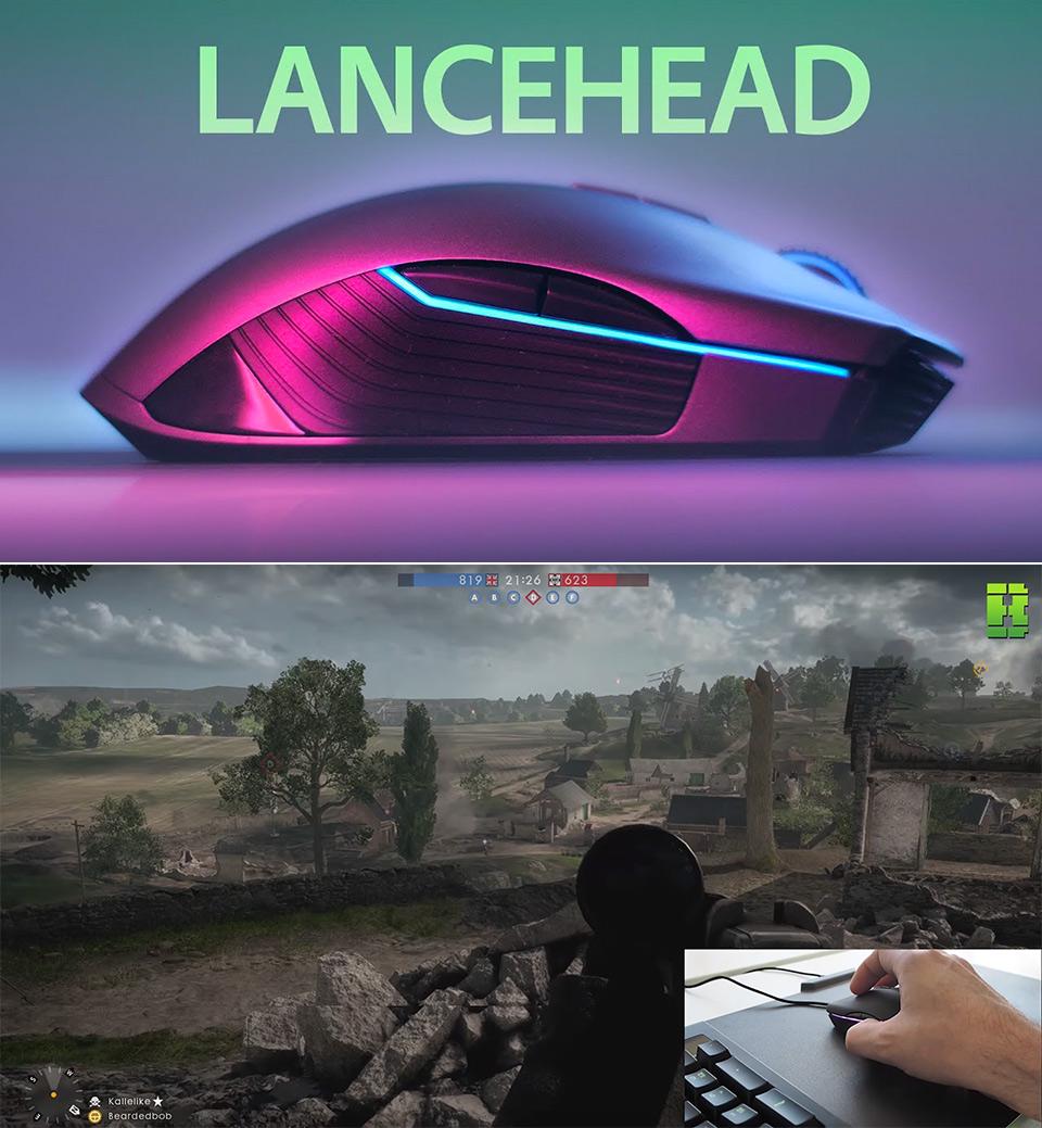 Razer Lancehead TE Mouse
