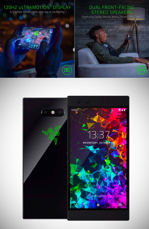 Razer Phone 2 Gaming Smartphone
