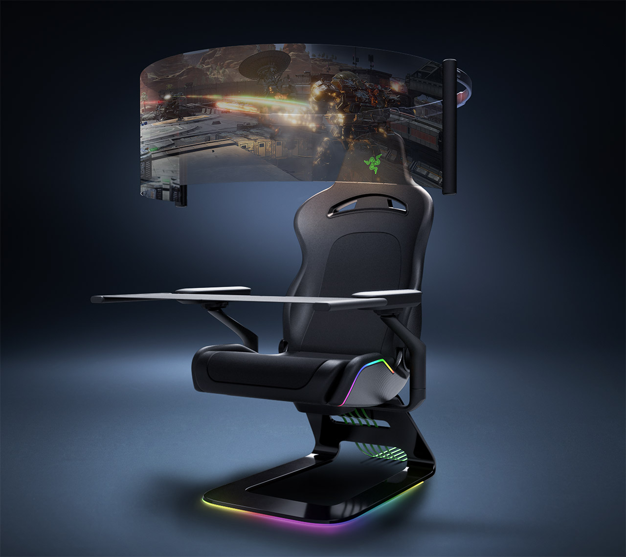 Razer Project Brooklyn Gaming Chair CES