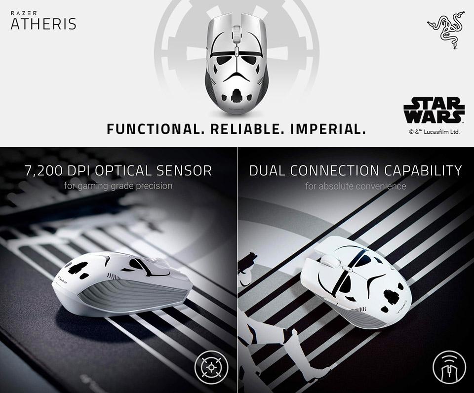 Razer Stormtrooper Atheris Mouse