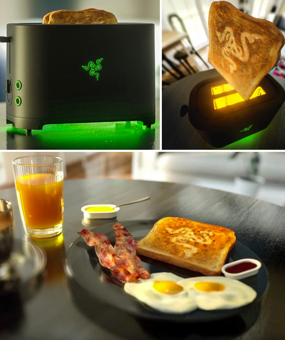 Razer Toaster Project Breadwinner