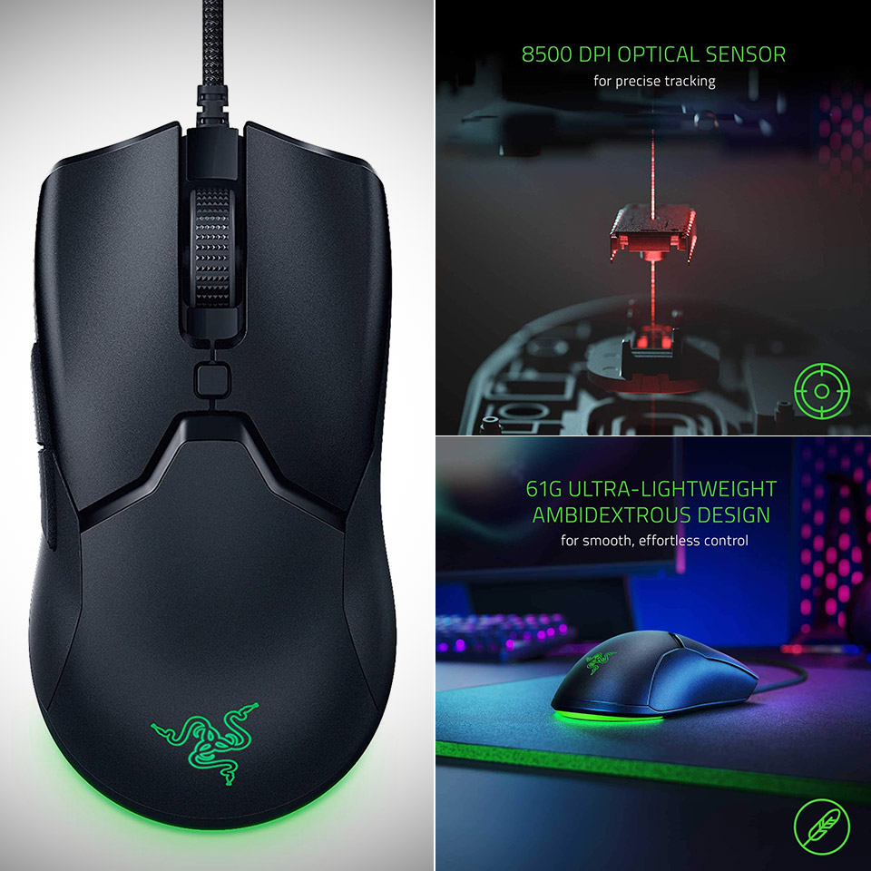 Razer Viper Mini Ultralight Gaming Mouse