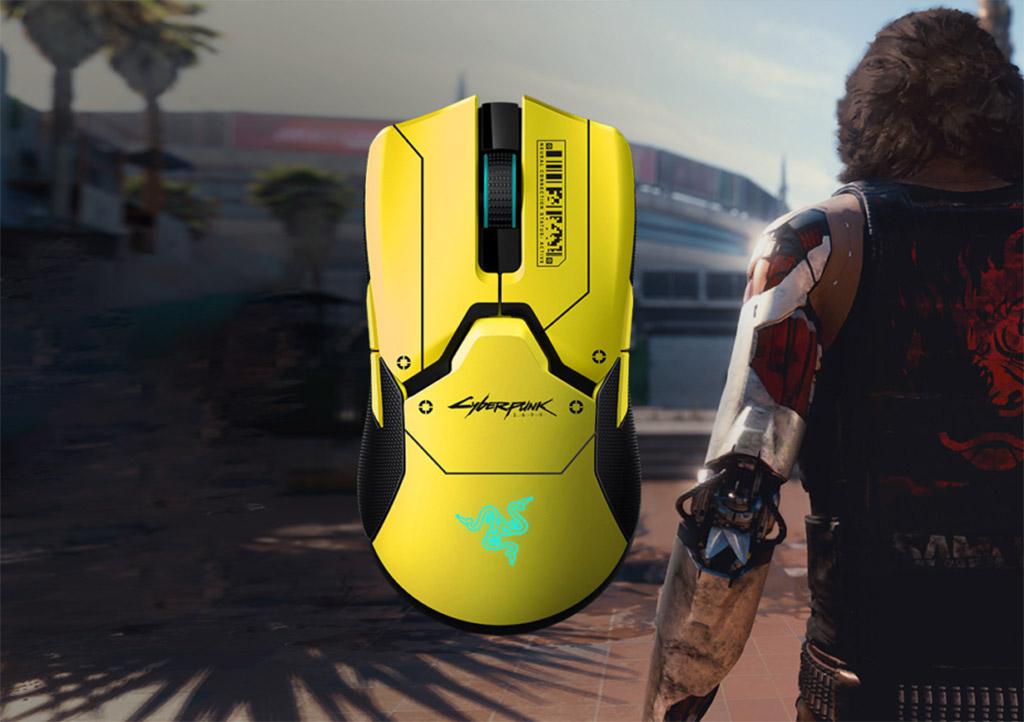 Razer Viper Ultimate Cyberpunk 2077 Edition Computer Mouse