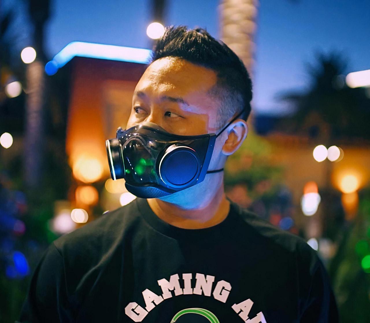 Razer Zephyr RGB Face Mask